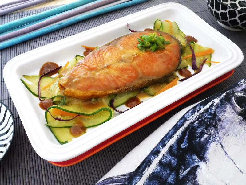味噌芥末鮮鮭【全聯24節氣料理】