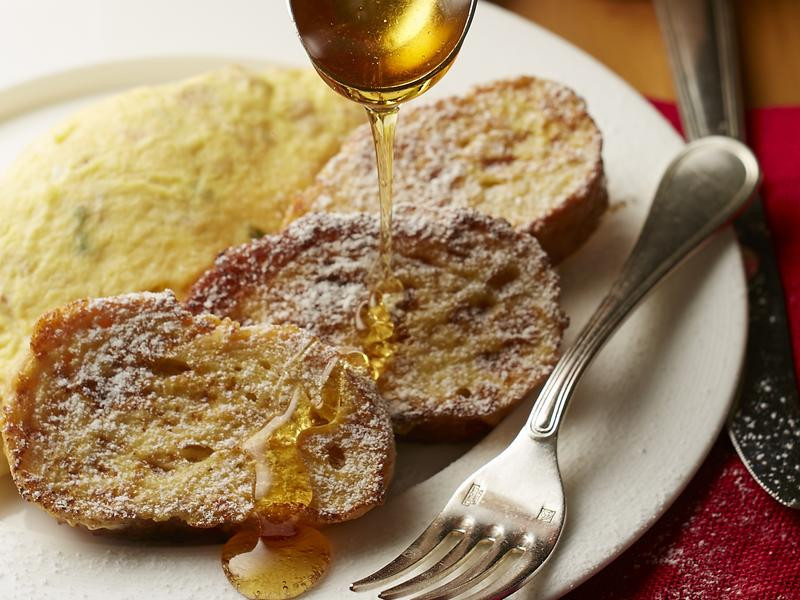 歐式朝食(法式吐司+西班牙蛋捲)