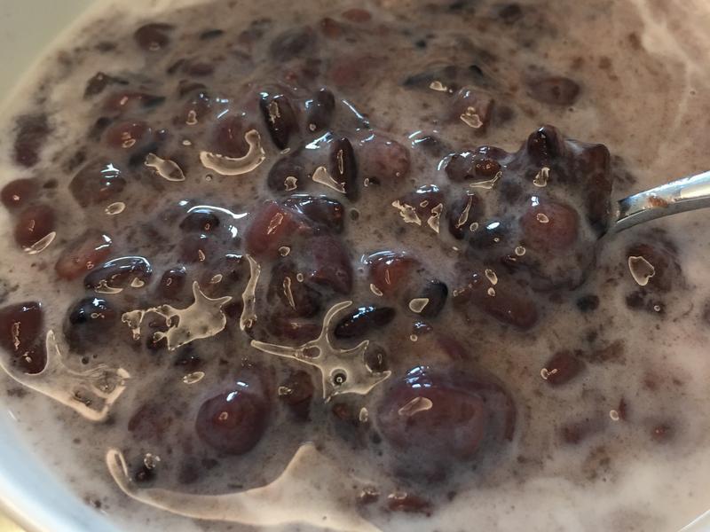 奶香紅豆紫米粥(簡單又省瓦斯)