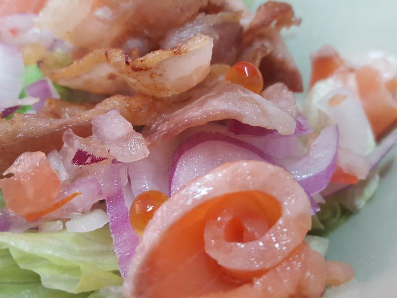 煙燻鮭魚沙拉