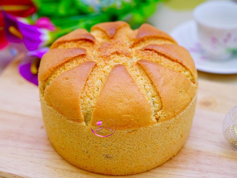 蜜地瓜戚風蛋糕