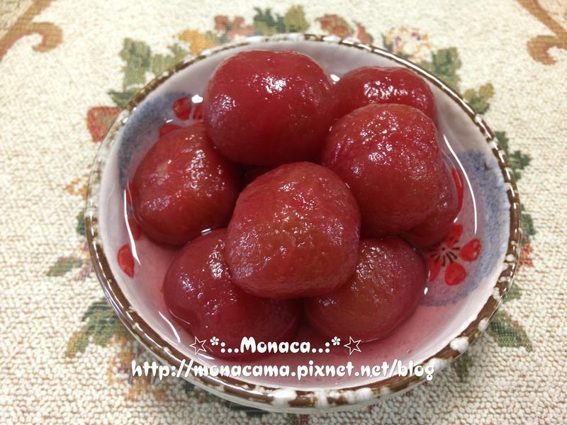法式紅酒釀番茄