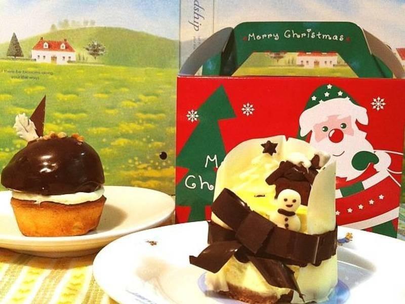 """""""檸香巧球塔""""""""白耶誕乳酪""""~甜點也要過聖誕"""