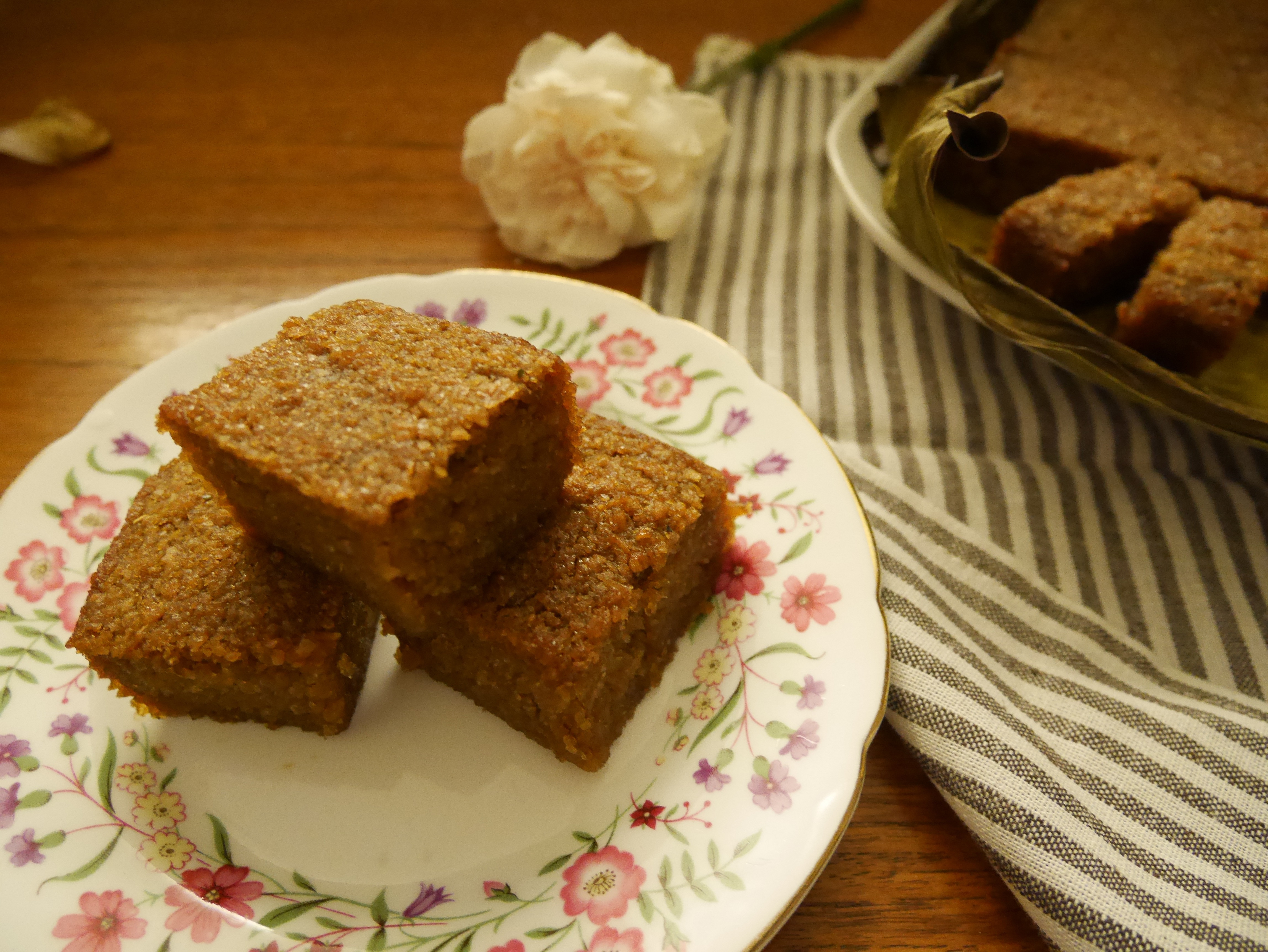 烤木薯糕,Cassava cake
