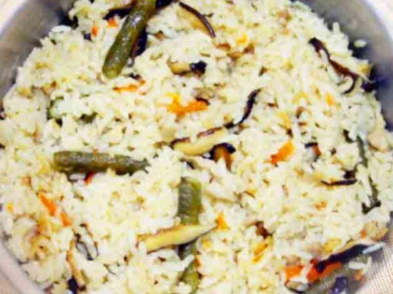 【厚生廚房】菜豆飯