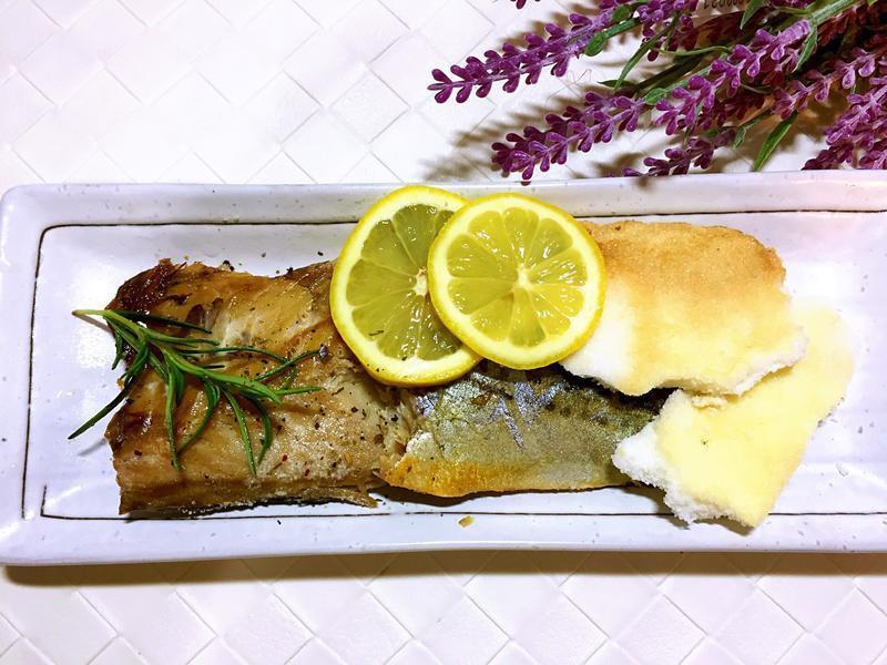 迷迭香鹽焗鯖魚