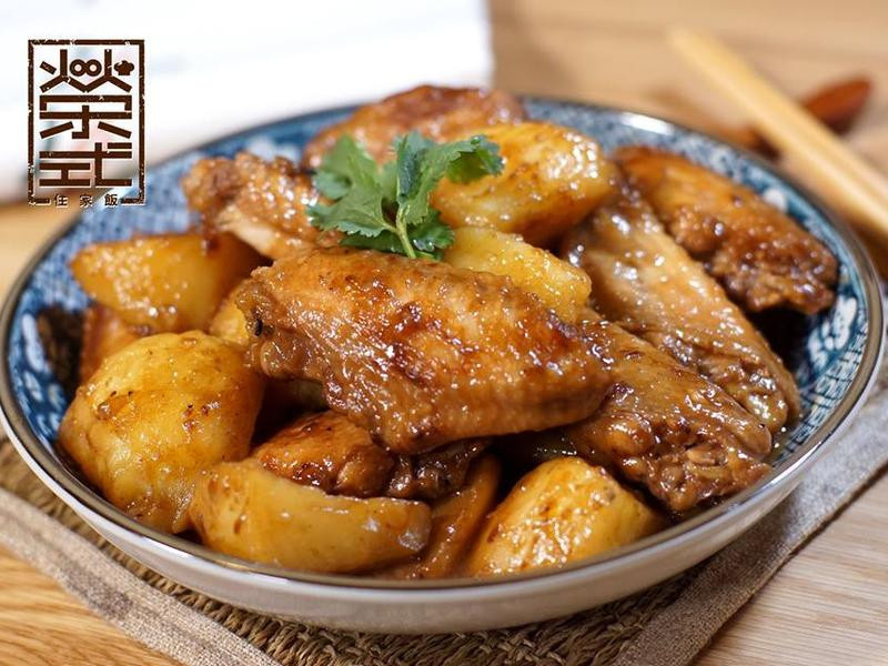 馬鈴薯燜雞翼