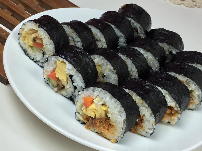 韓式鰻魚海苔飯捲