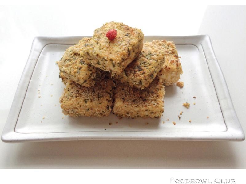 脆皮燕麦豆腐