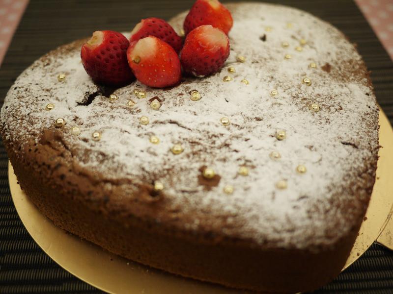 聖誕節應景-『濃情巧克力蛋糕』