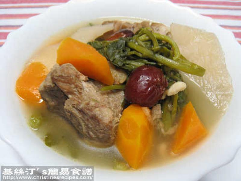 西洋菜豬骨湯