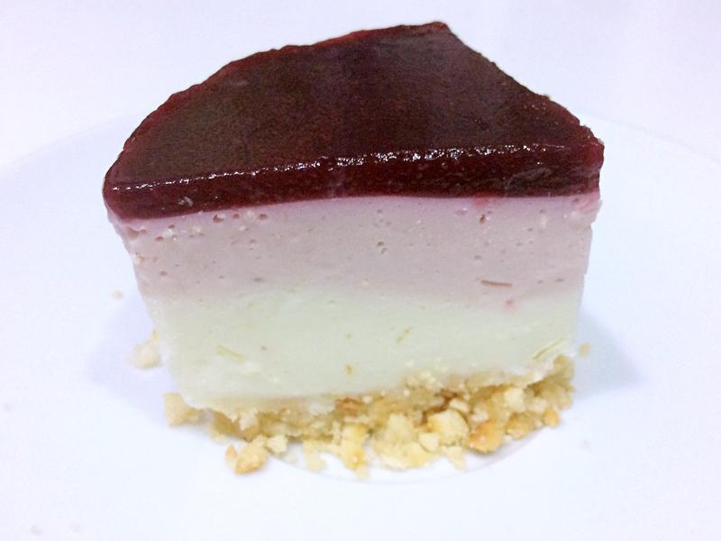莓果優格生乳酪蛋糕(免烤)