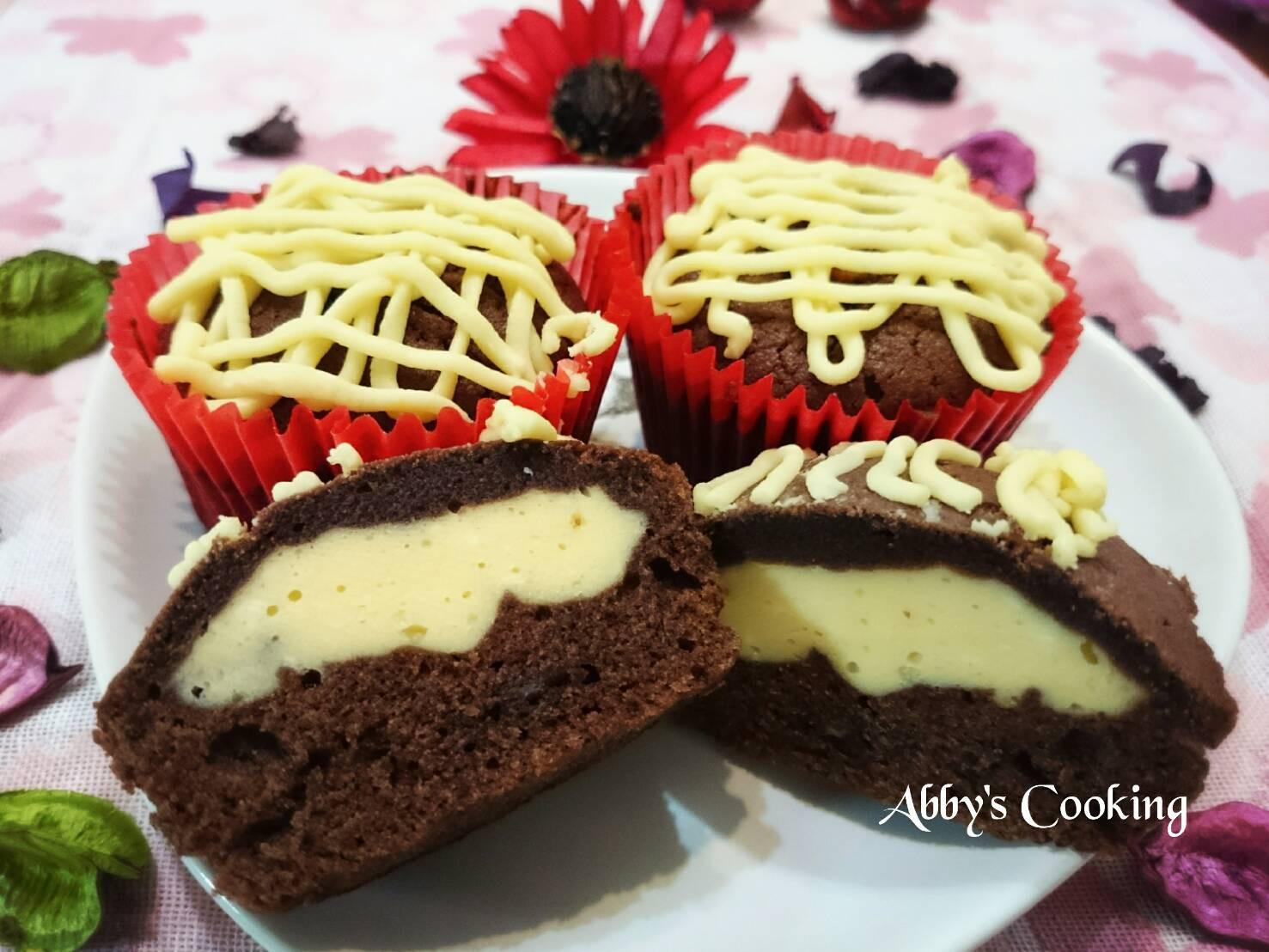 奶油乳酪巧克力馬芬