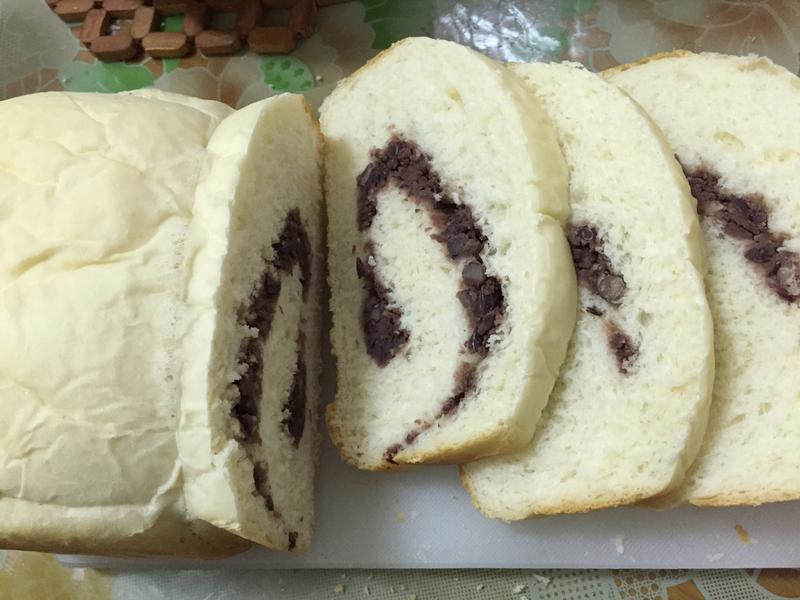 紅豆吐司(麵包機)