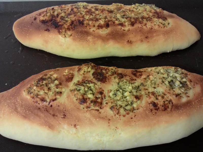 軟式香蒜麵包(直接法)