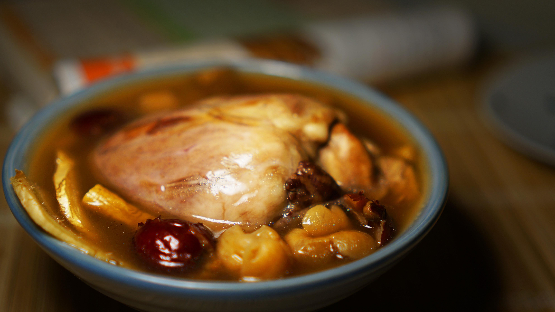 小滿 : 桂圓黨蔘豬心湯