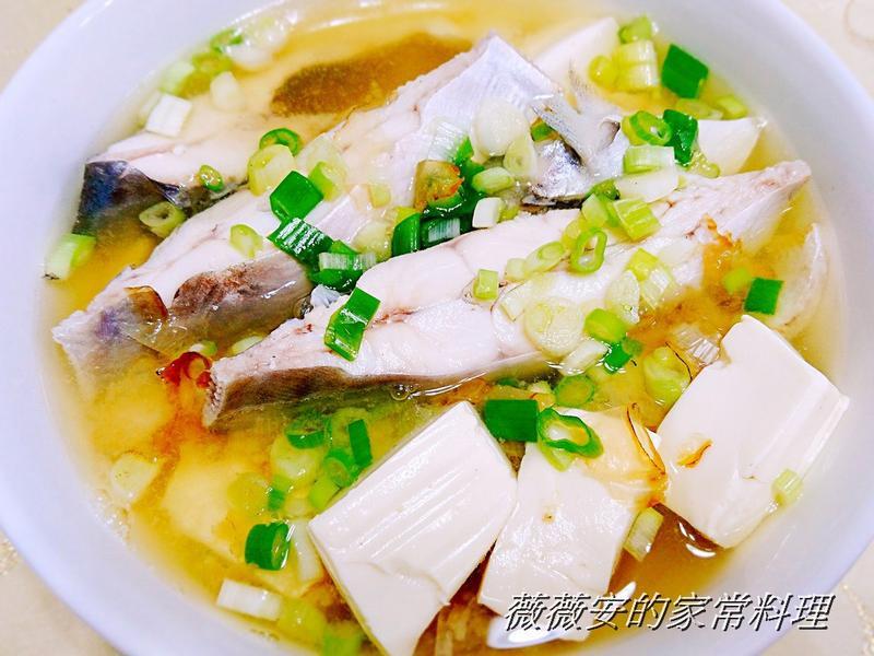 鮮魚豆腐味噌湯