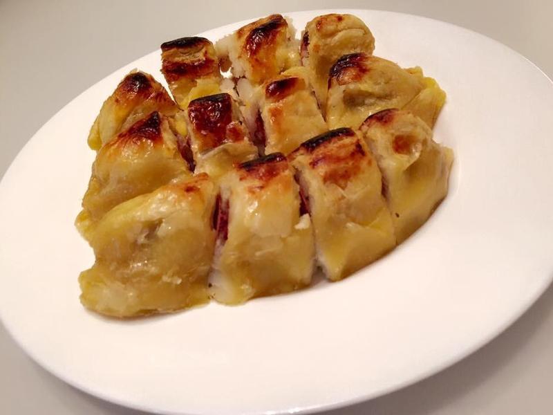 馬鈴薯德國香腸酥皮捲