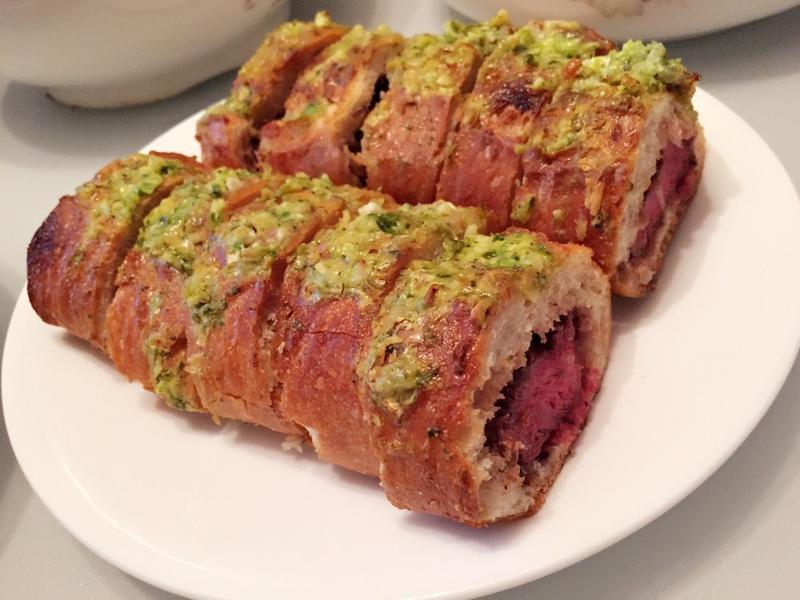法國麵包牛肉捲