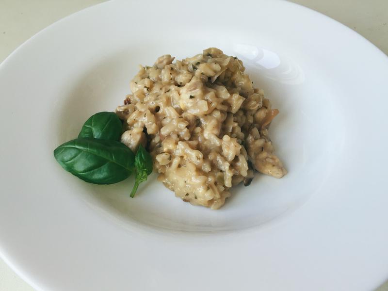 義式蘑菇燉飯