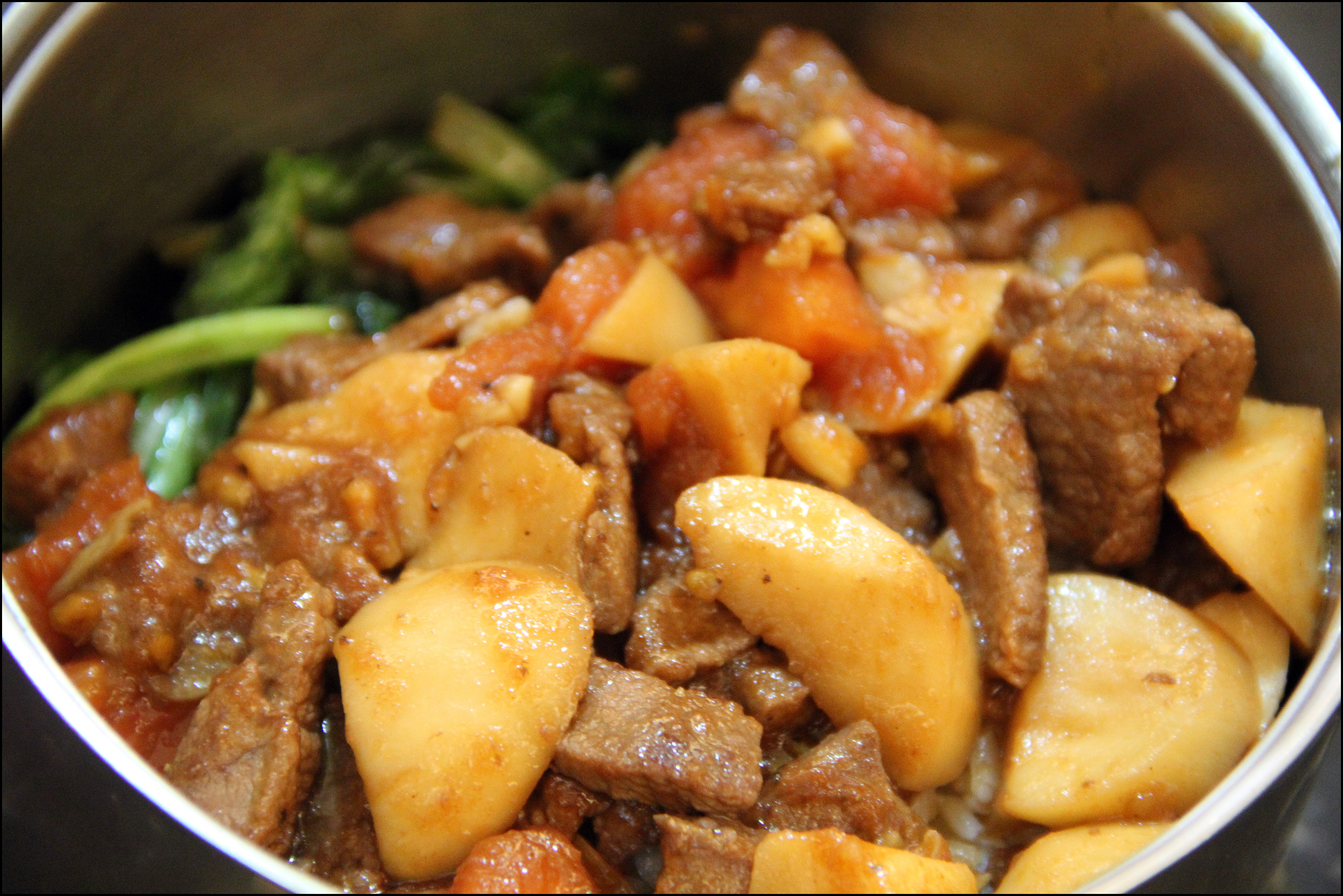 便當菜:蕃茄炒牛肉