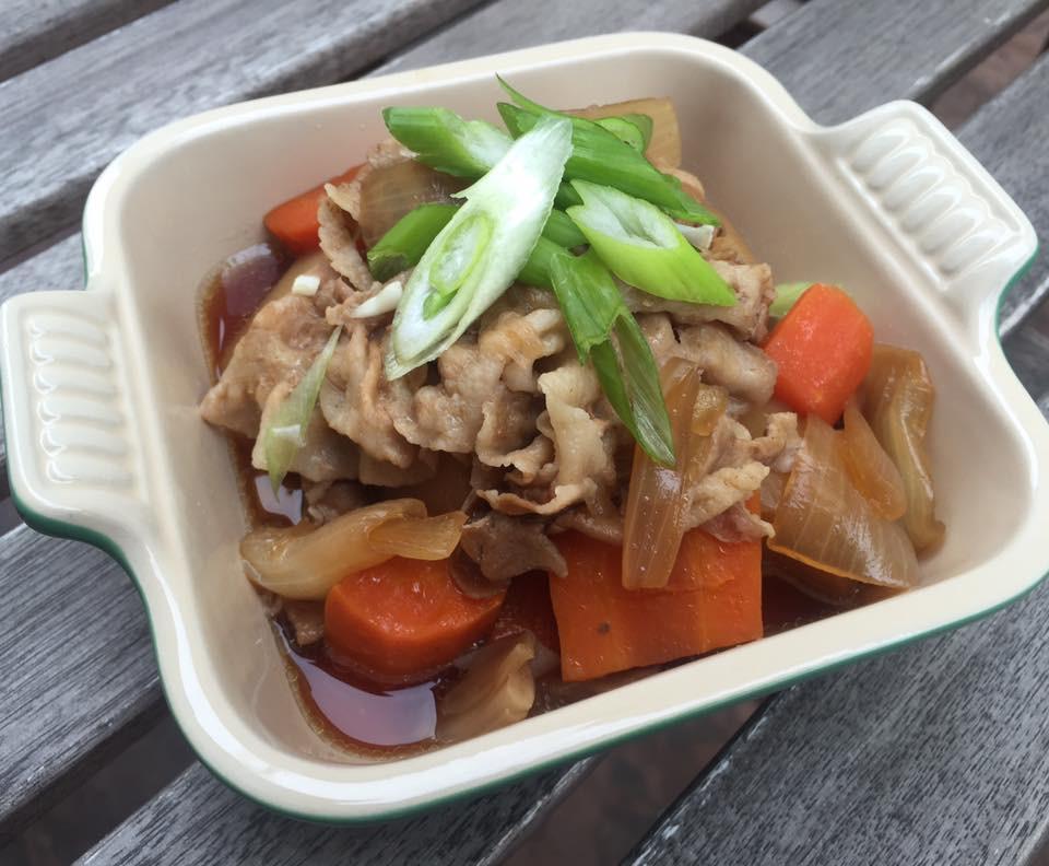 簡易版日式大根燉肉(日式白蘿蔔燉肉)