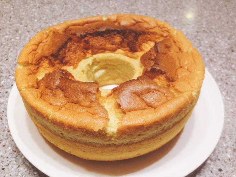 香蕉戚風蛋糕(減糖減油版)