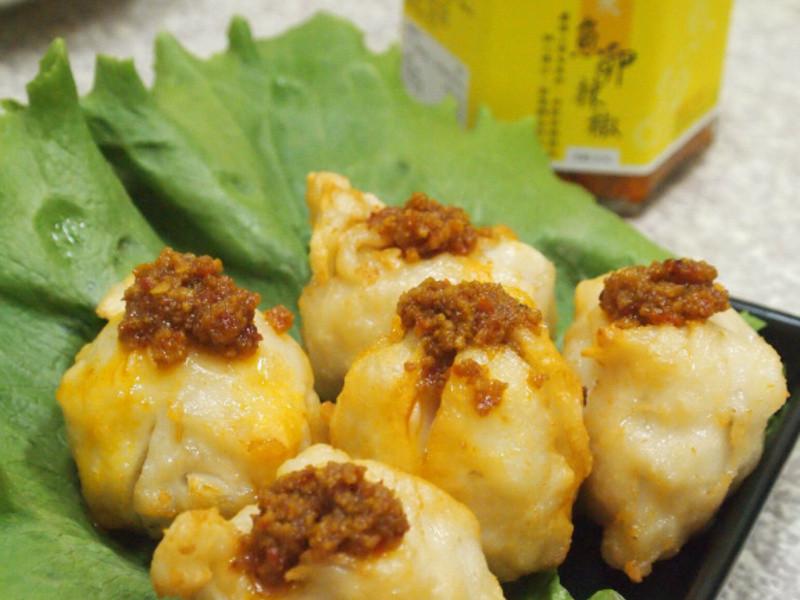 魚卵辣椒花枝丸