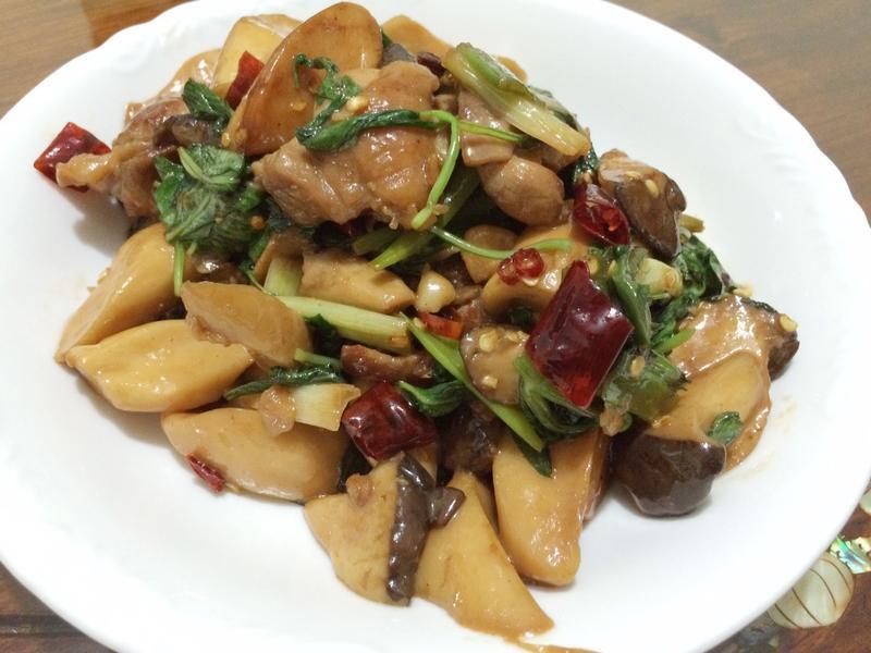 三杯菇菇雞-搶鮮料理懶廚房
