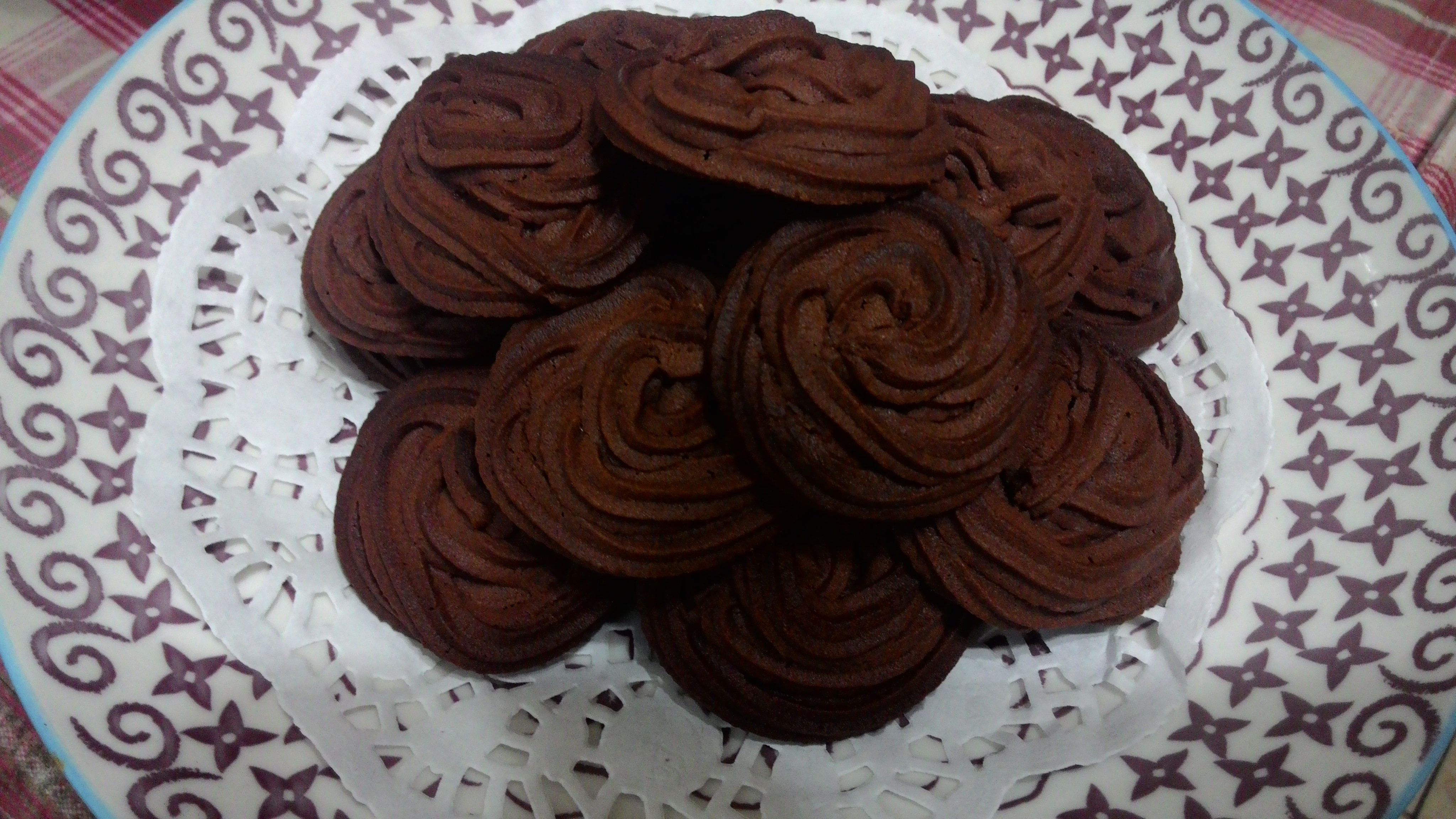 巧克力奶酥餅乾