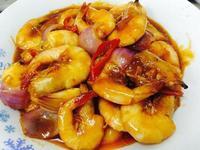 茄汁香辣虾