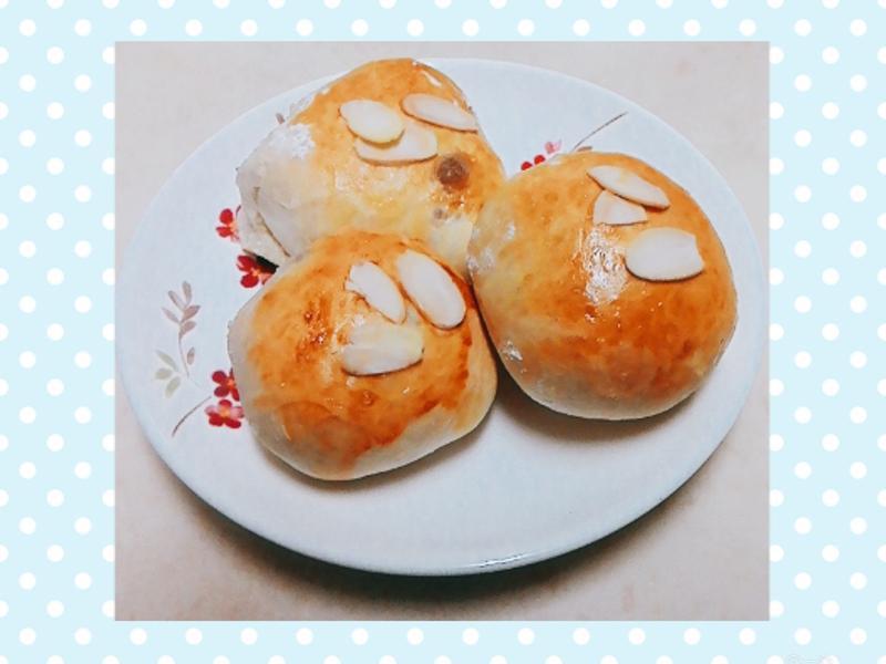 芋香風味小餐包(麵包機揉麵)