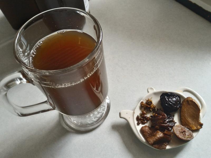 清涼飲料~桂花酸梅湯