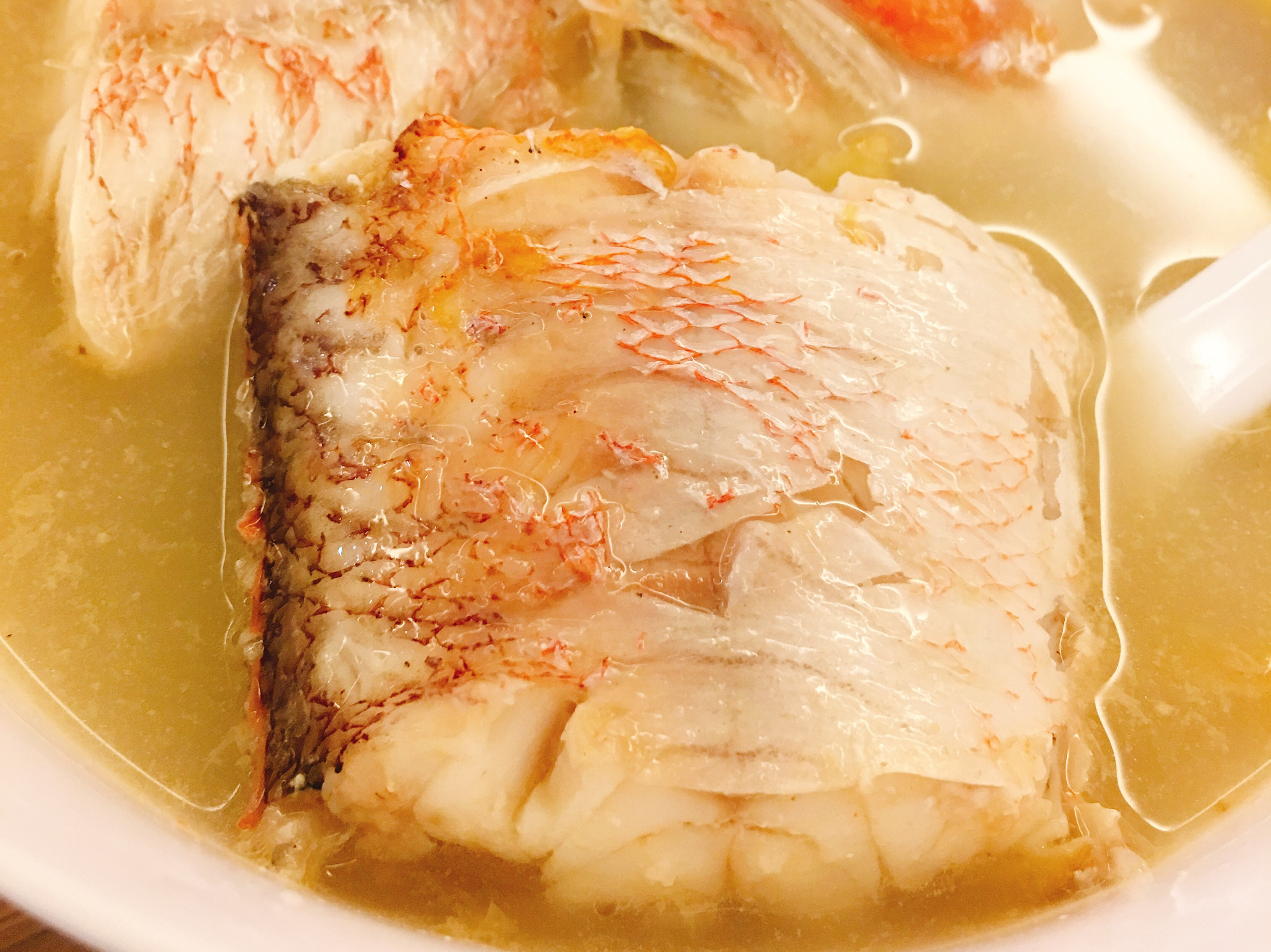 超級鮮甜之馬頭魚魚湯
