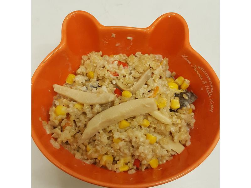 白醬野菇燉飯