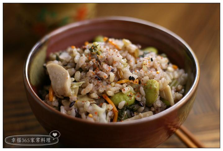 日式素菜炊飯