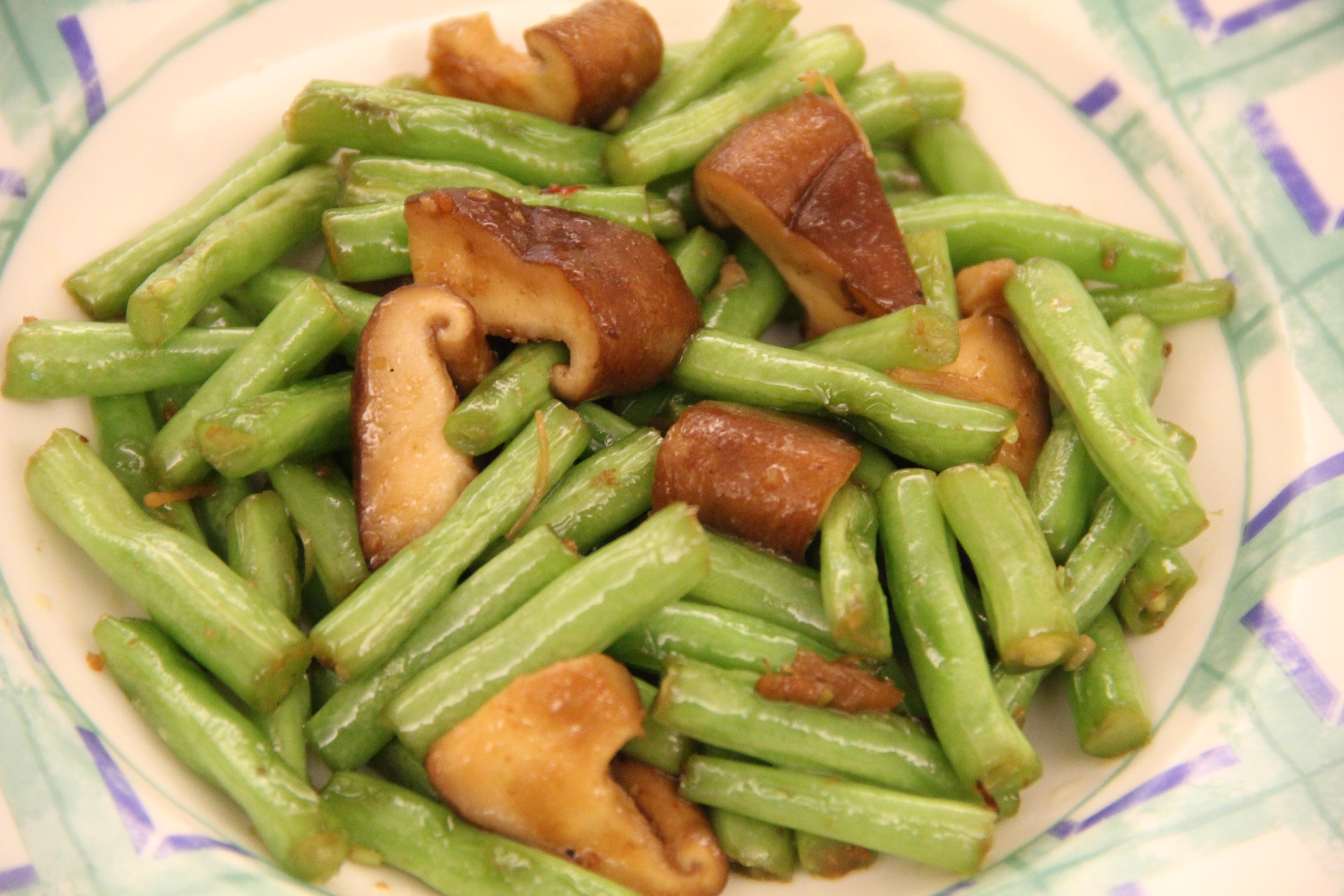 便當菜:四季豆料理