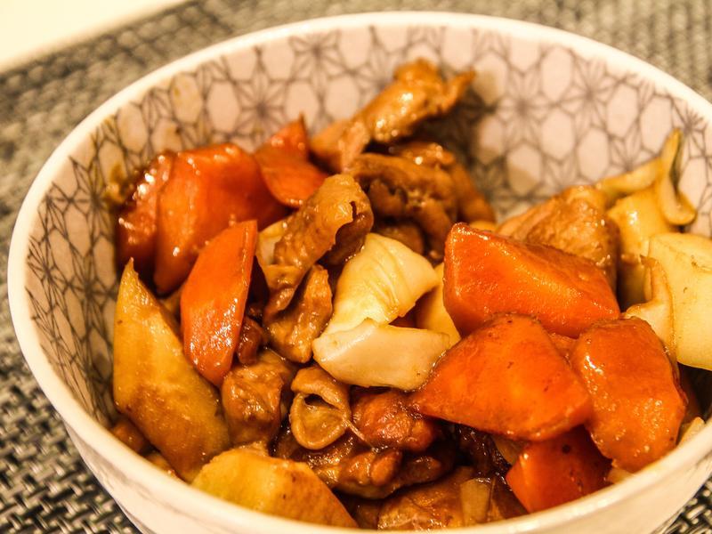 「筑前煮」 - 簡易版和風家庭料理