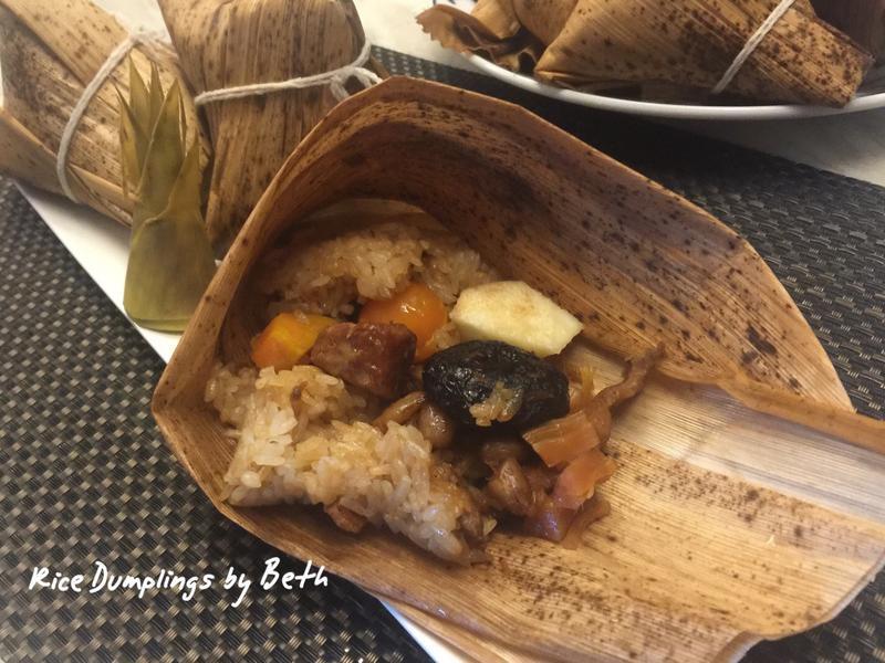 台式鮮筍肉粽