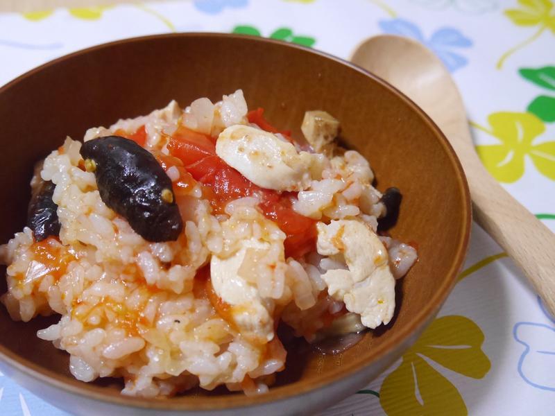 簡易番茄雞肉燉飯