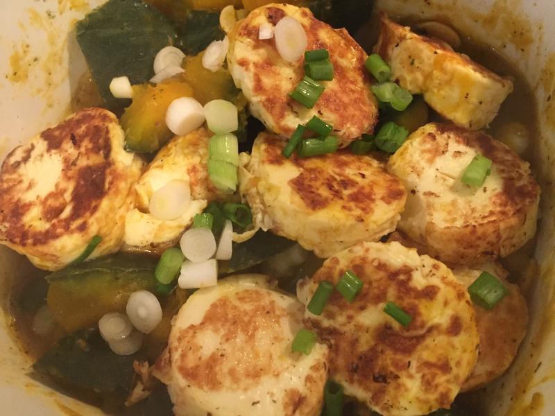 南瓜雞蛋豆腐