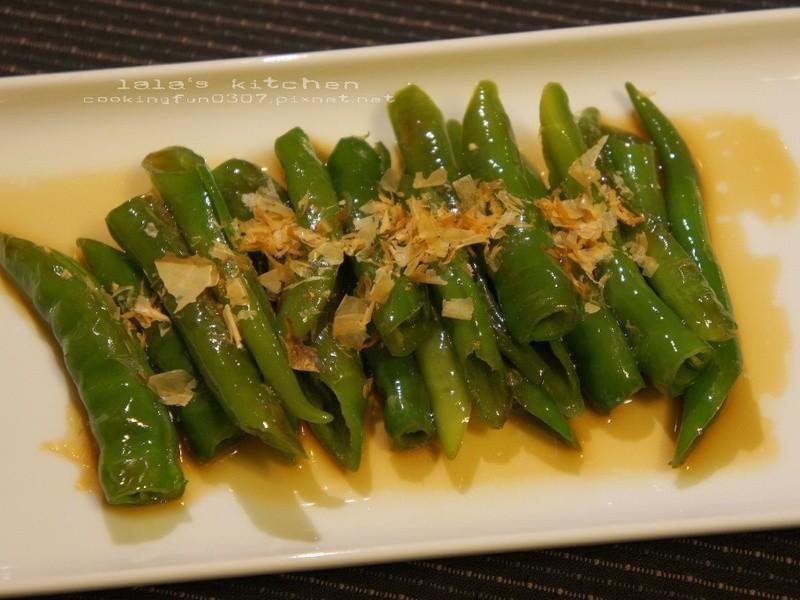 香煎糯米椒(青辣椒)