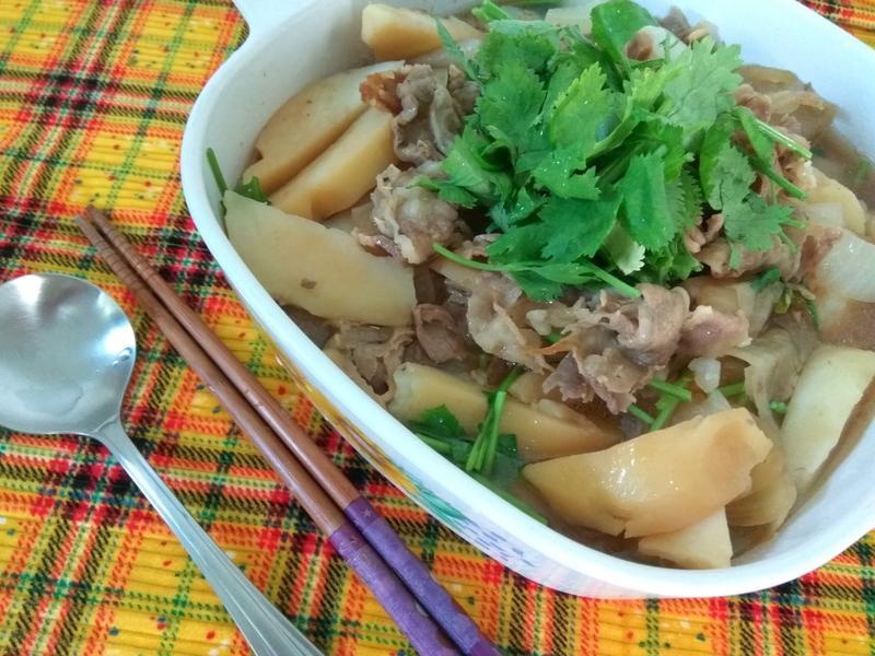電鍋料理─和風肉片馬鈴薯鍋