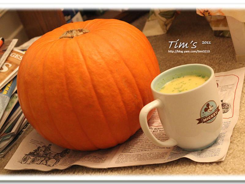 [提姆士食譜] 奶油南瓜濃湯