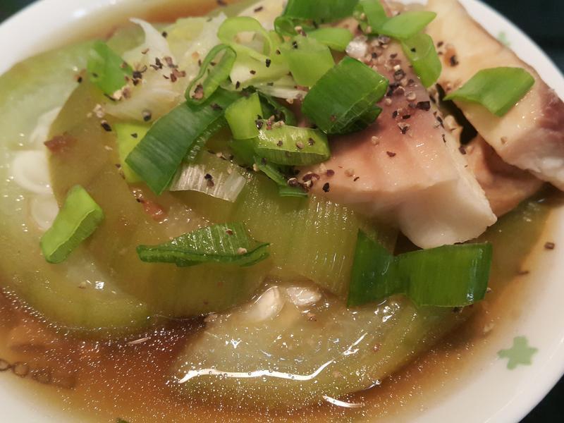 鯛魚片絲瓜