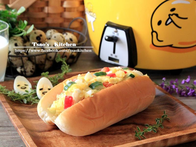 地瓜蛋沙拉【大同蛋黃哥按一下電鍋】