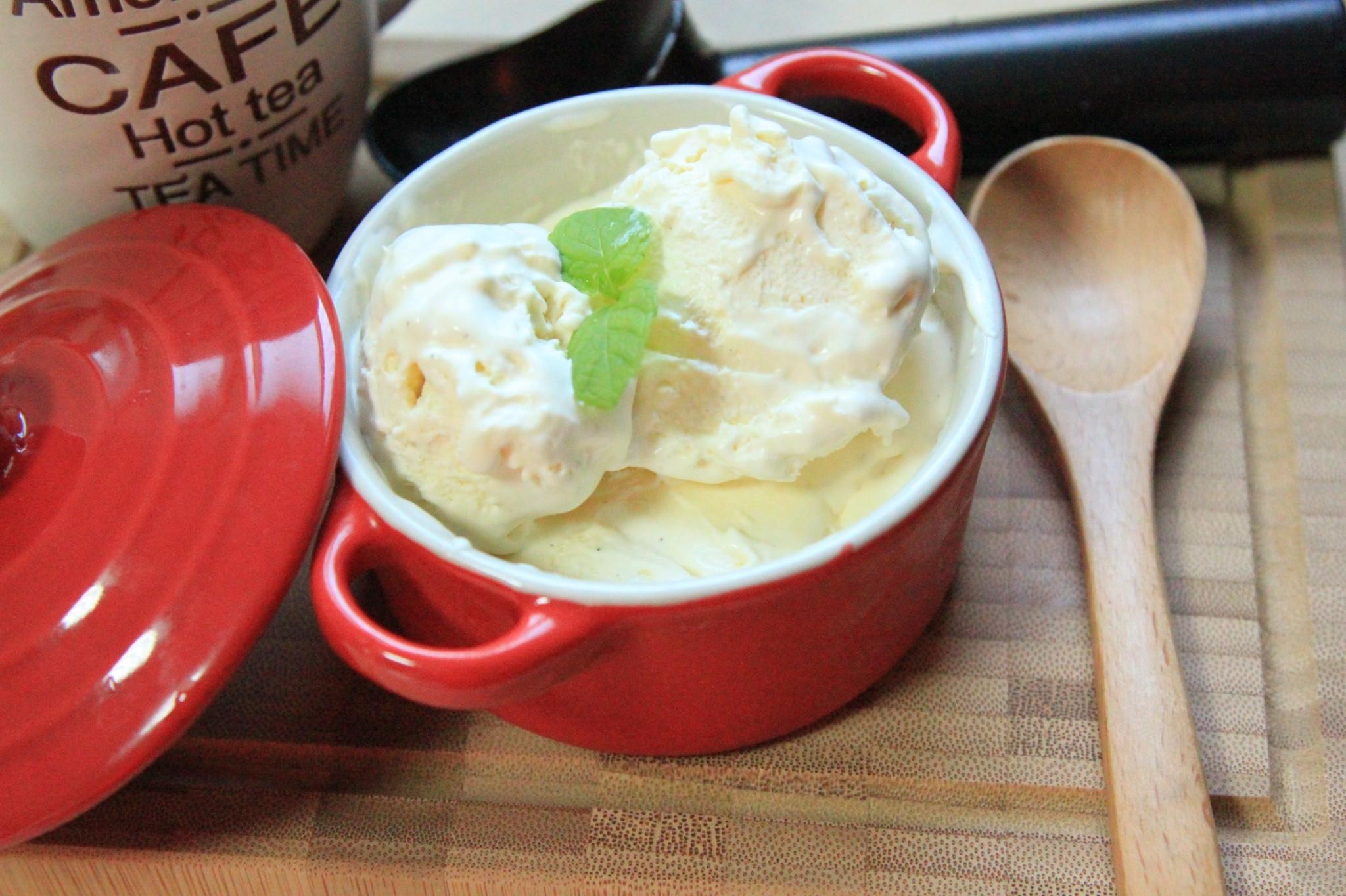 香草冰淇淋『無蛋黃版』