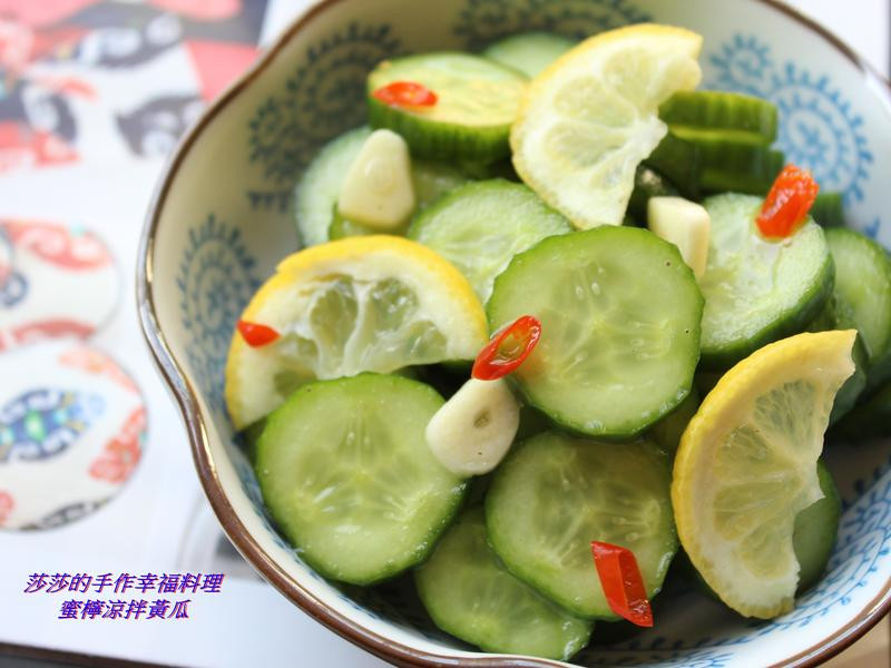 蜜檸涼拌黃瓜