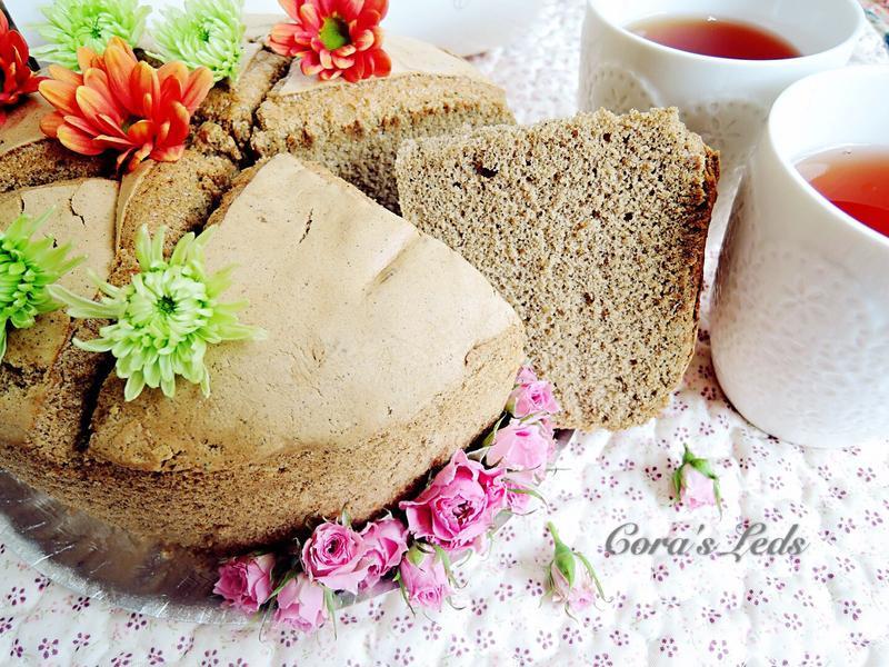 Joyoung豆漿機-豆漿紅茶戚風蛋糕