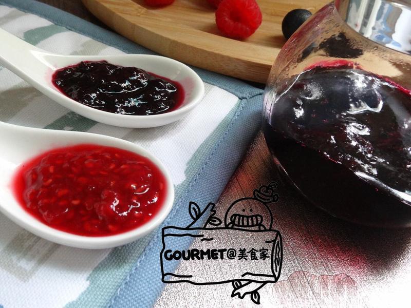 天然莓果醬